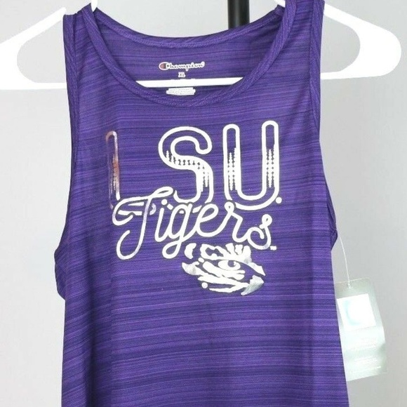 Other - LSU Tigers Girls Scoop Neck Racer Back Tank Top